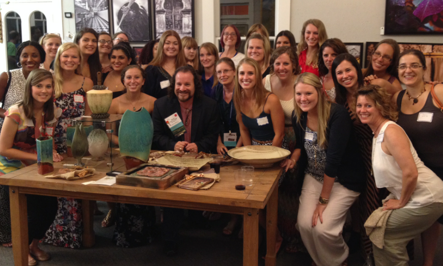 2014 FSU Art Therapy Friends & Alumni Reception in San Antonio