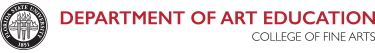 Department of Art Education logo