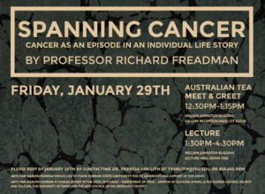Spanning Cancer flyer