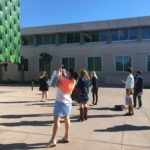 Students visiting the Ringling Museum in Sarasota