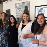 """Studio Art and Self-Care Concept's Class Exhibit, """"Art Therapists_ The Art Inside,"""" held at the Plant on Saturday, May 4, 2019"""